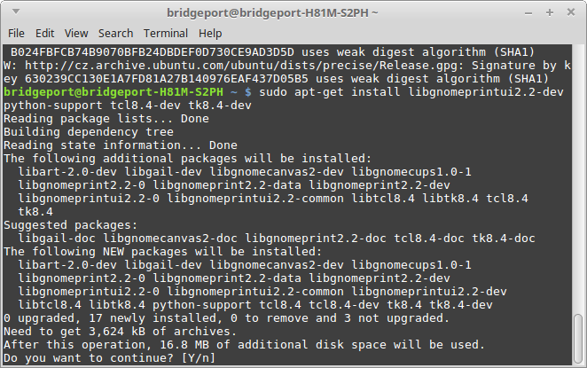 Complete HOW-TO Linux Mint 18 1 32/64 RTAI or PREEMPT with