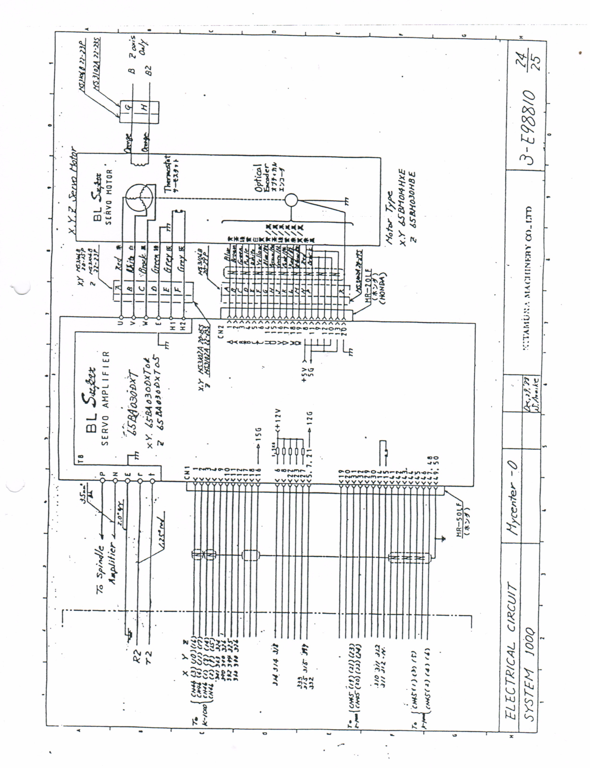 mesa 7i77 cnc wire diagram
